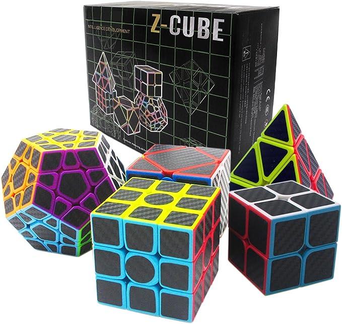 Fibra del Carbón Cubo mágico cajas de regalo Set 2x2x2,3x3x3 ...