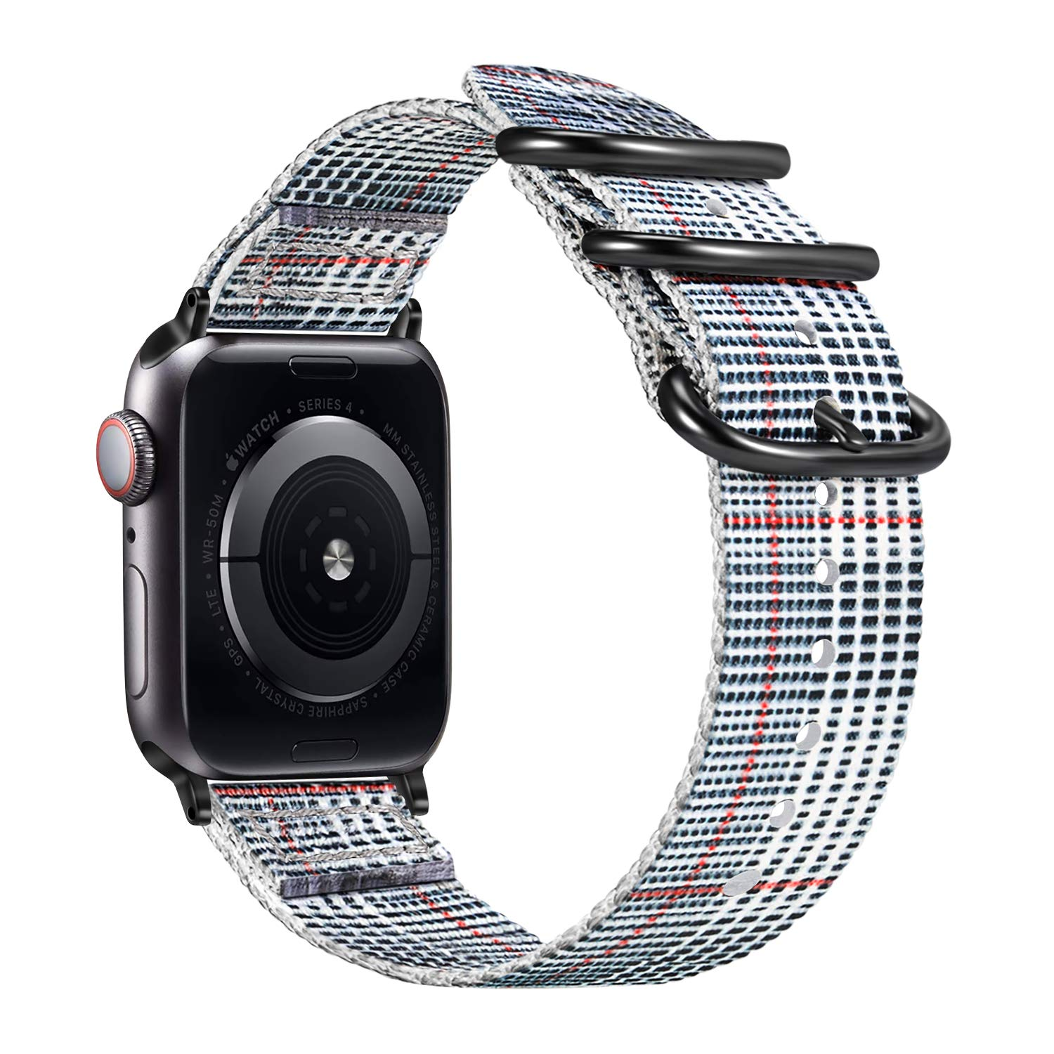 Malla Nylon para Apple Watch (42/44mm) FINTIE [7VXKK9YH]