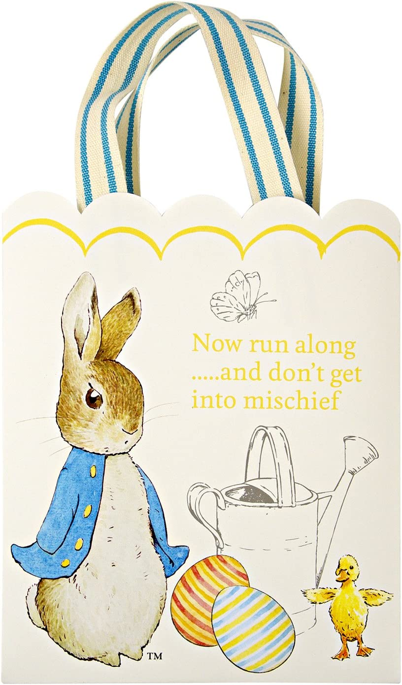 Easter Decorations Peter Rabbit Happy Easter Banner Pennant