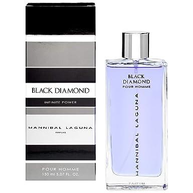 HANNIBAL LAGUNA colonia black diamond spray 150 ml: Amazon.es