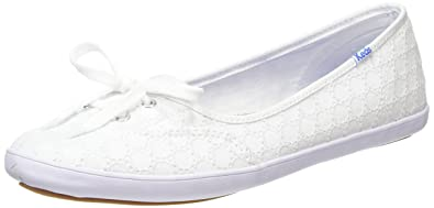 65c2313e7f Keds Teacup Eyelet, Women's Oxford lace-up flats, White (White), 3 ...