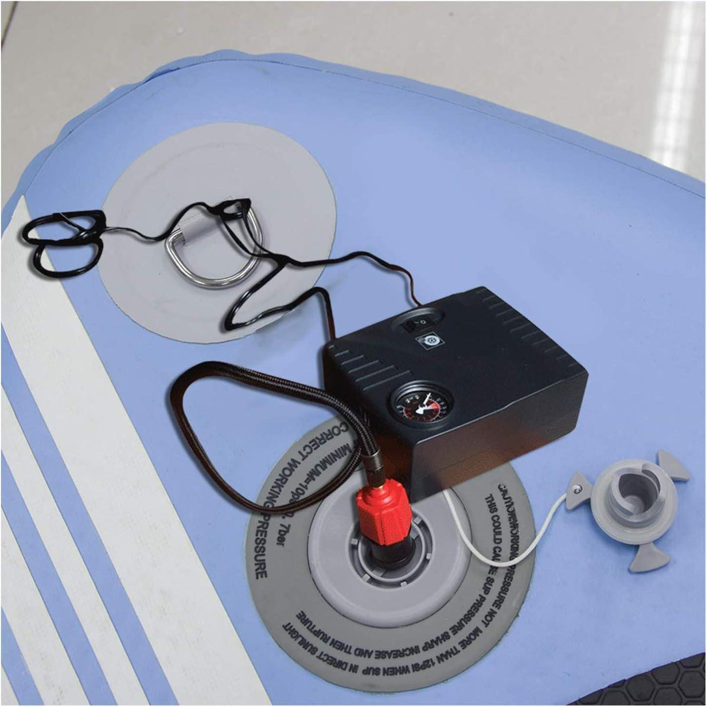 Oumers Adaptador Inflable de la Bomba de Sup Convertidor de la Bomba de Aire Cama Inflable Tabla de Remo de pie Accesorio de v/álvula de Aire Convencional de 4 est/ándares para Bote Inflable etc.