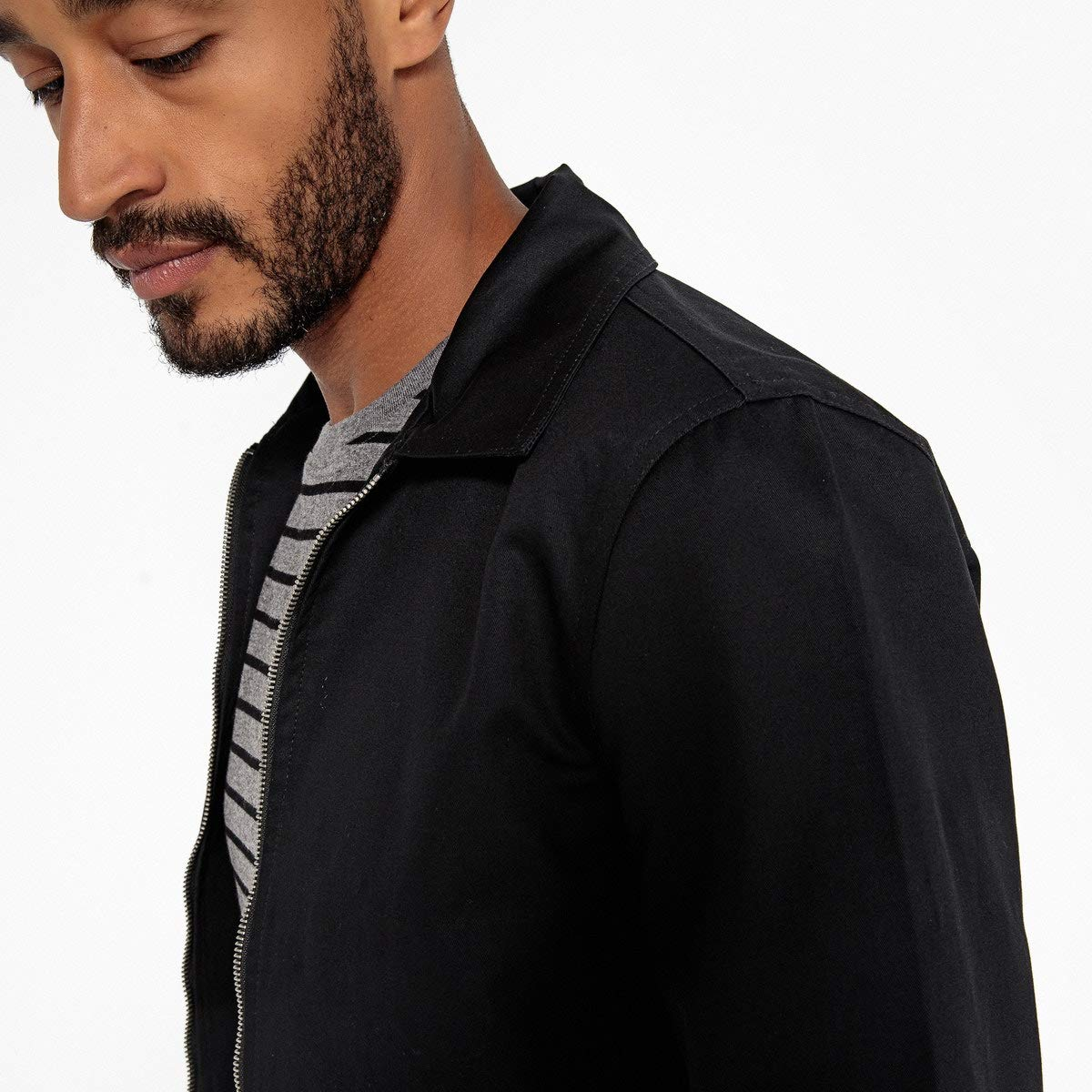 La Redoute Collections Uniross Short Jacket with Classic Collar