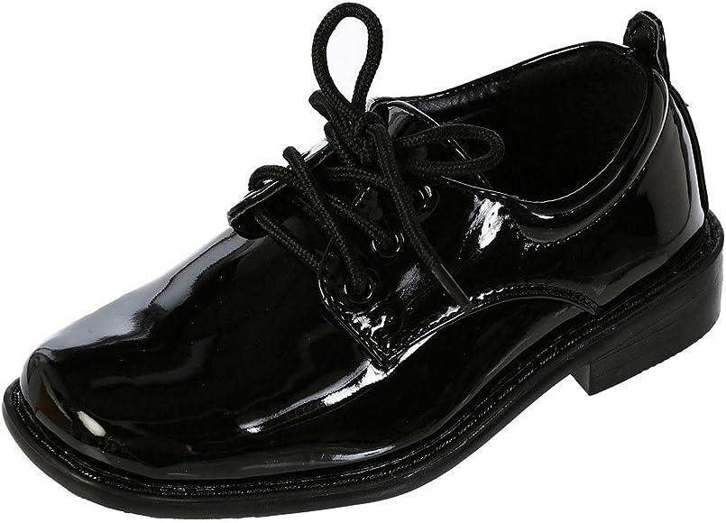 DressForLess Boys Dress Shoes, Black