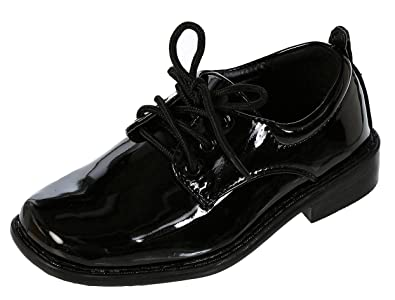 Amazon.com | DressForLess Boys Dress Shoes | Oxfords & Loafers