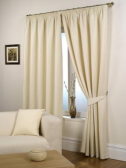 Amazon.com: Impressions - Par de cortinas con forro ...