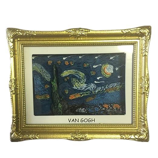 Weekinglo Souvenir Van Gogh Pintura La Noche Estrellada Países ...