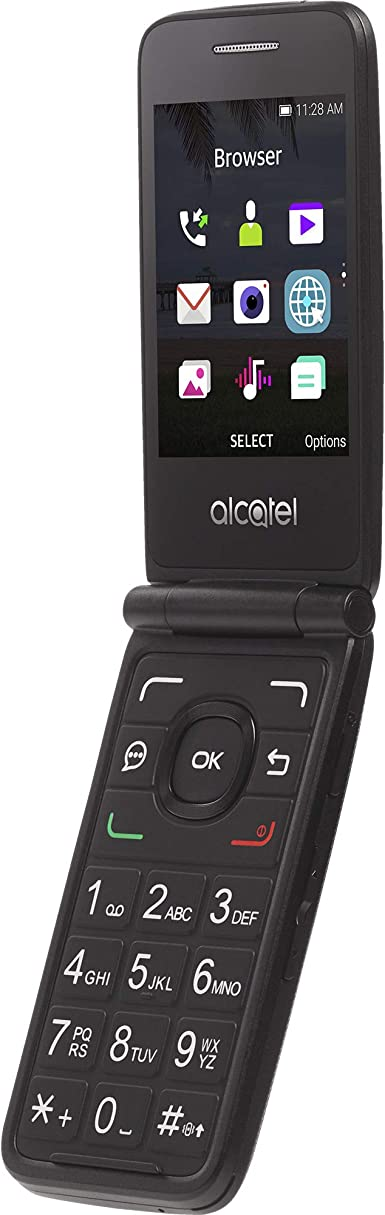 Amazon.com: Simple Mobile Carrier-Locked Alcatel MyFlip 4G ...