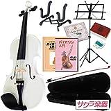 Hallstatt ハルシュタット ヴァイオリン V-12/WH 4/4サイズバイオリン サクラ楽器オリジナル初心者入門セット
