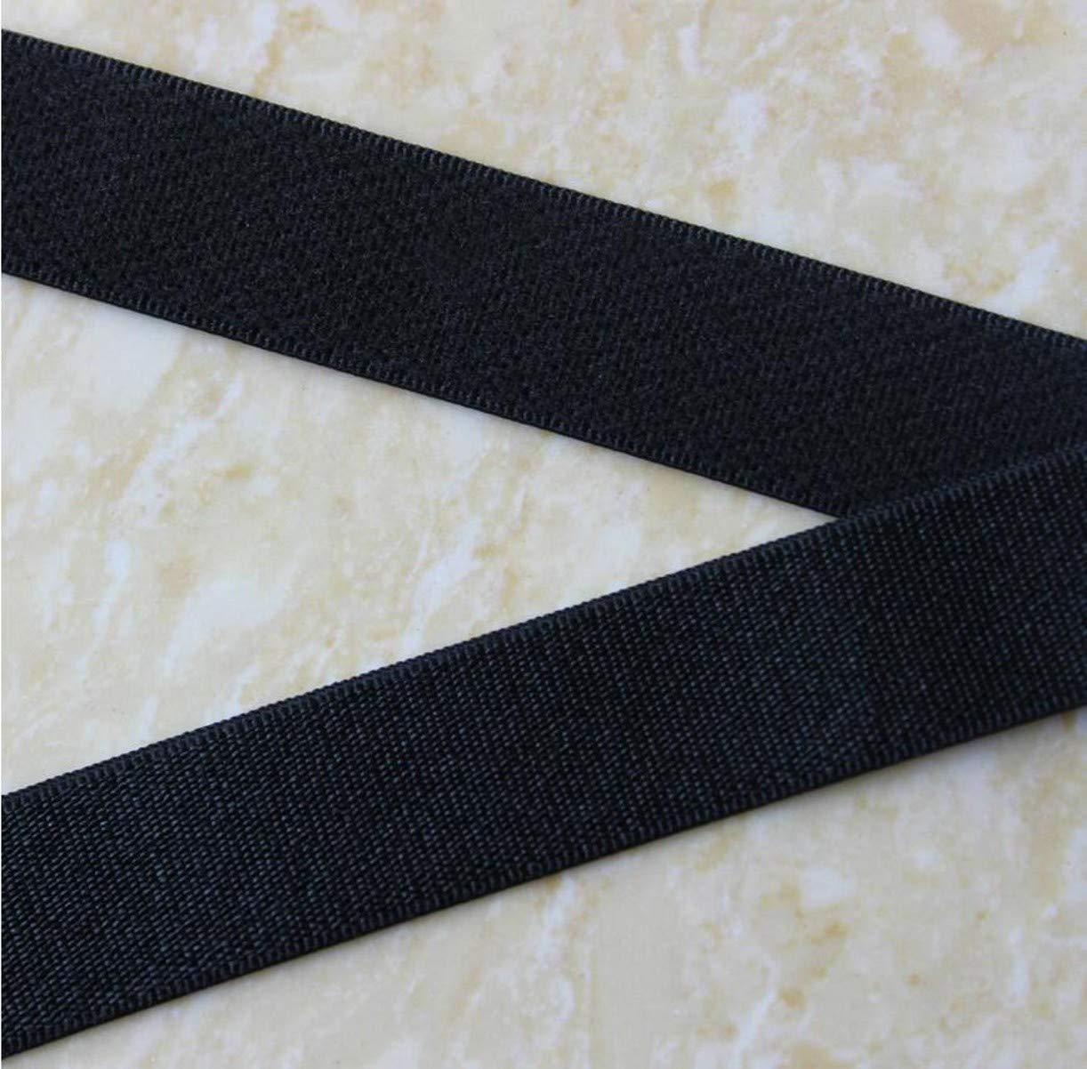 WellieSTR 100Meters(109 Yards) 10mm Width Bra Underwear Elastic Bra Strap,Underwear Shoulder Strap,DIY Sewing Material Elastic Band - Black by WellieSTR
