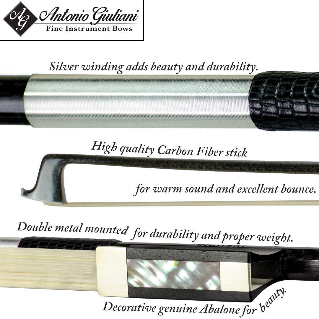 Giuliani Carbon Fiber Bow 4/4 (Full) Size