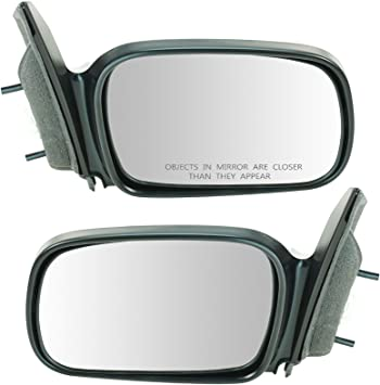 Amazon Com Power Side Mirrors Set Pair Left Lh Right Rh For 06 11 Civic 2 Door Coupe Automotive