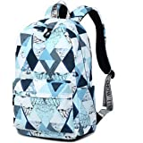 Joymoze Fashion Leisure Backpack for Girls Teenage School Backpack Women Print Backpack Purse (Magic Blue)