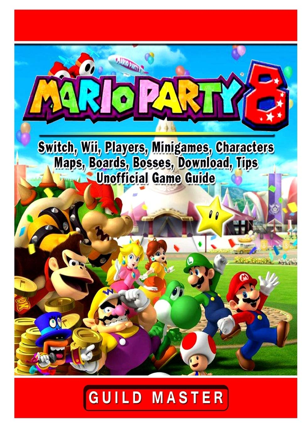 Super Mario Party 8, Switch, Wii, Players, Minigames, Characters ...