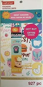 Craft Smart Sweet Sunshine 927 Piece Planner Stickers