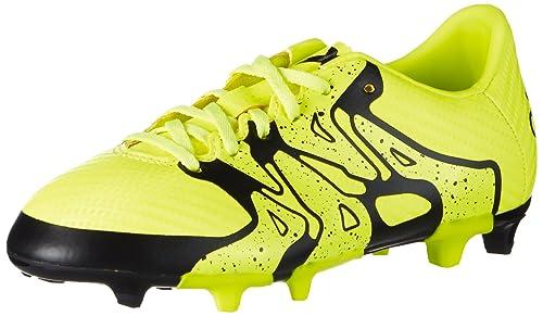 outlet store d1687 ed9cb adidas X15.3 FG AG, Botas de fútbol Niñas  adidas  Amazon.es  Zapatos y  complementos