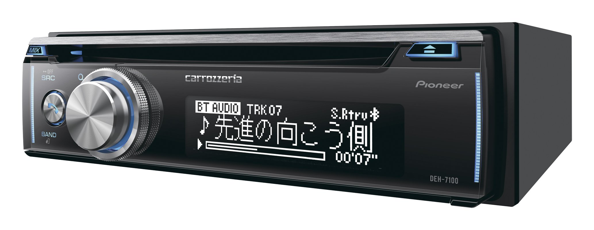 Pioneer Carrozzeria DEH-7100 car audio 1D main unit CD USB Bluetooth SD Sound(Japan Domestic genuine products) by Pioneer