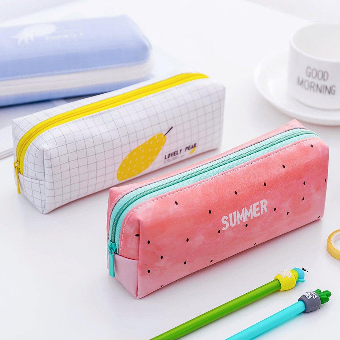 Amazon.com: iSuperb - Estuche para lápices, 2 unidades ...