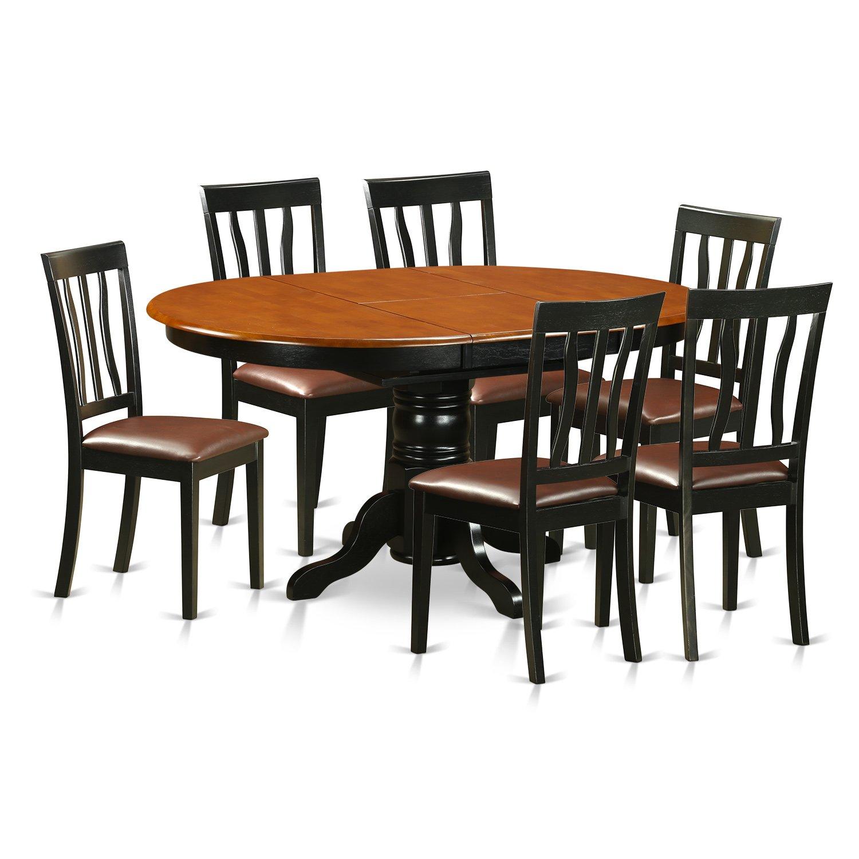 100 7 Piece Dining Room Set 7 Piece Two Toned  : 71hCDPKdf8LSL1500 from verdantstudios.com size 1500 x 1500 jpeg 175kB
