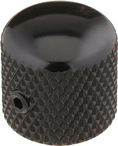 Ernie Ball Telecaster Knobs Black Aluminum, Set of 2