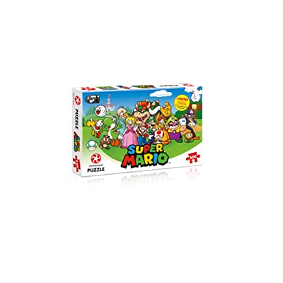 Winning Moves 29476 Nintendo Super Jigsaw Puzzle, Mario Kart + Friends 500PC: Toys & Games