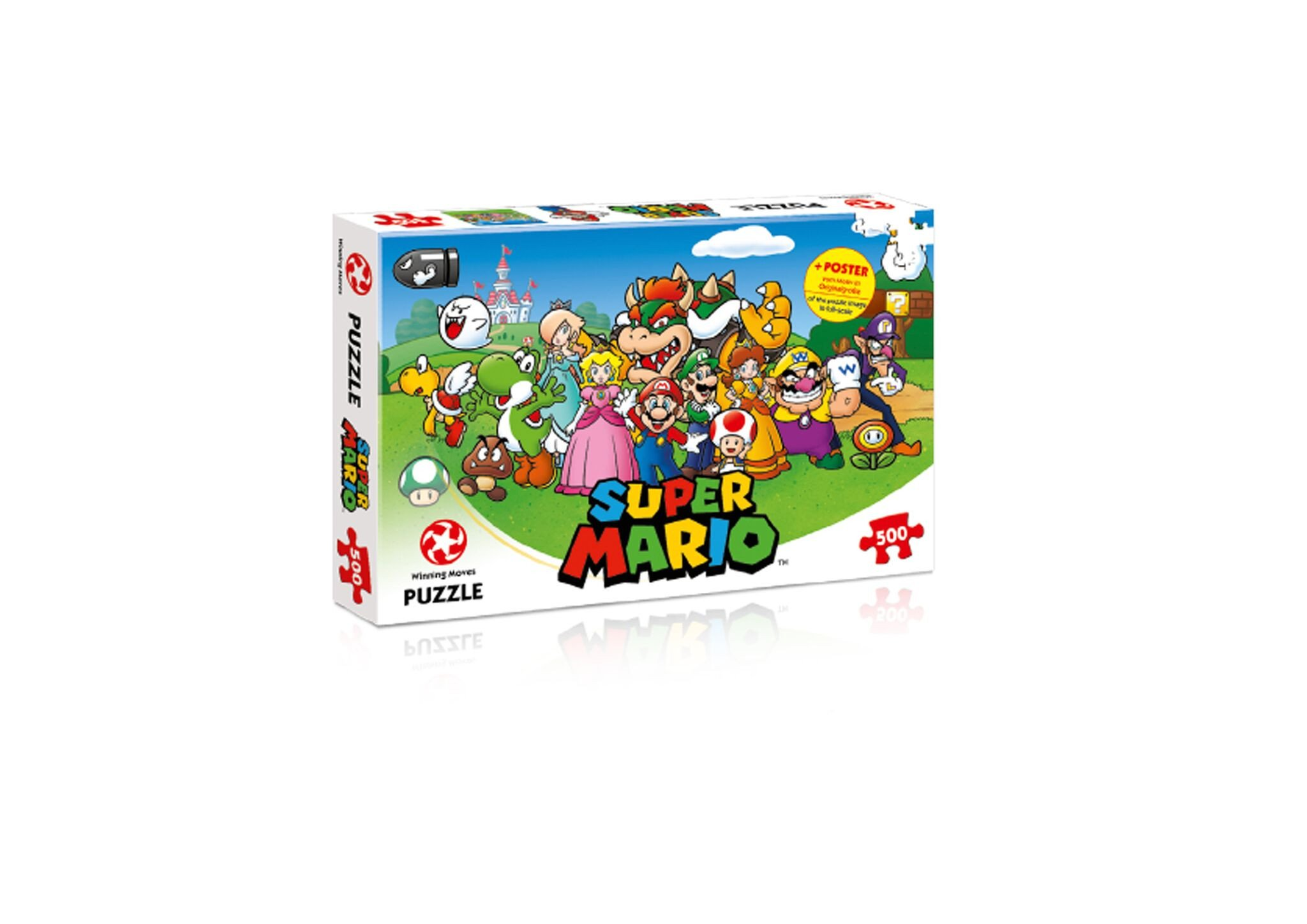 Puzzle 500 Super Mario and Friends (Polaco) Juguete Winning Moves B06XTR8R63 29476
