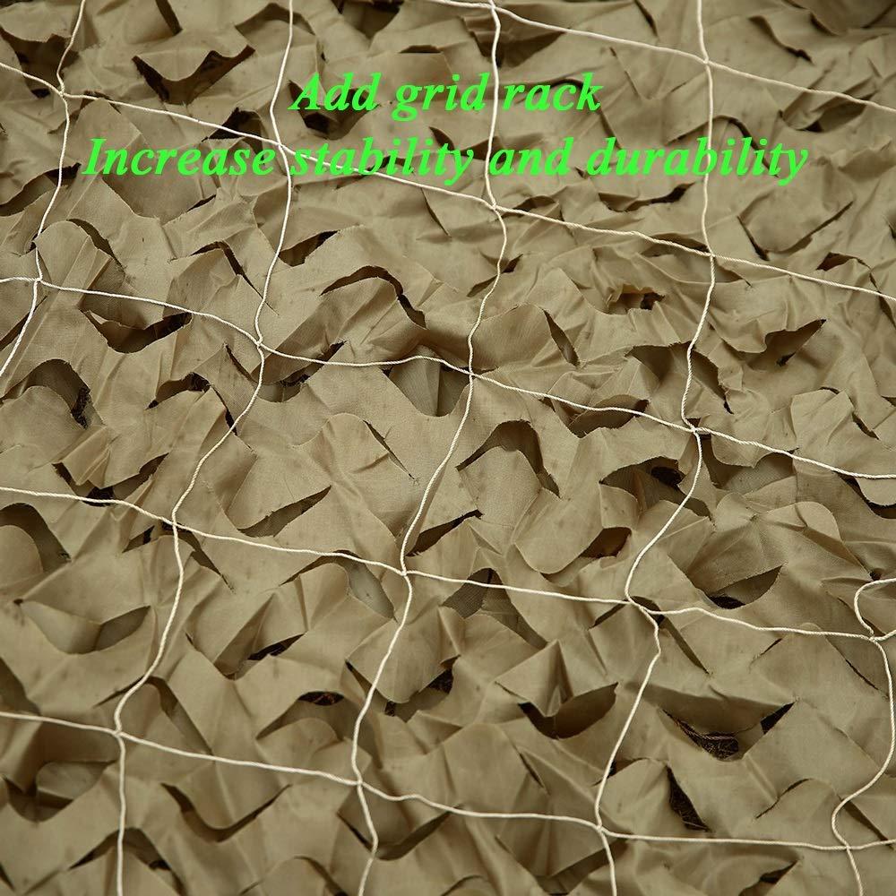 Rete Mimetica,Camouflage Net Camuffamento Parasole Camo Mimetica Mimetica Mimetica Sole Ombreggiata Tende,Adatto per Bambini Campeggio Militare Esercito Nascondere Travestimento Caccia Tiro 3x5m Giardino Marronee B07MYGV551 77M | Garanzia di qualità e quantità  | Raccoman 309e2b