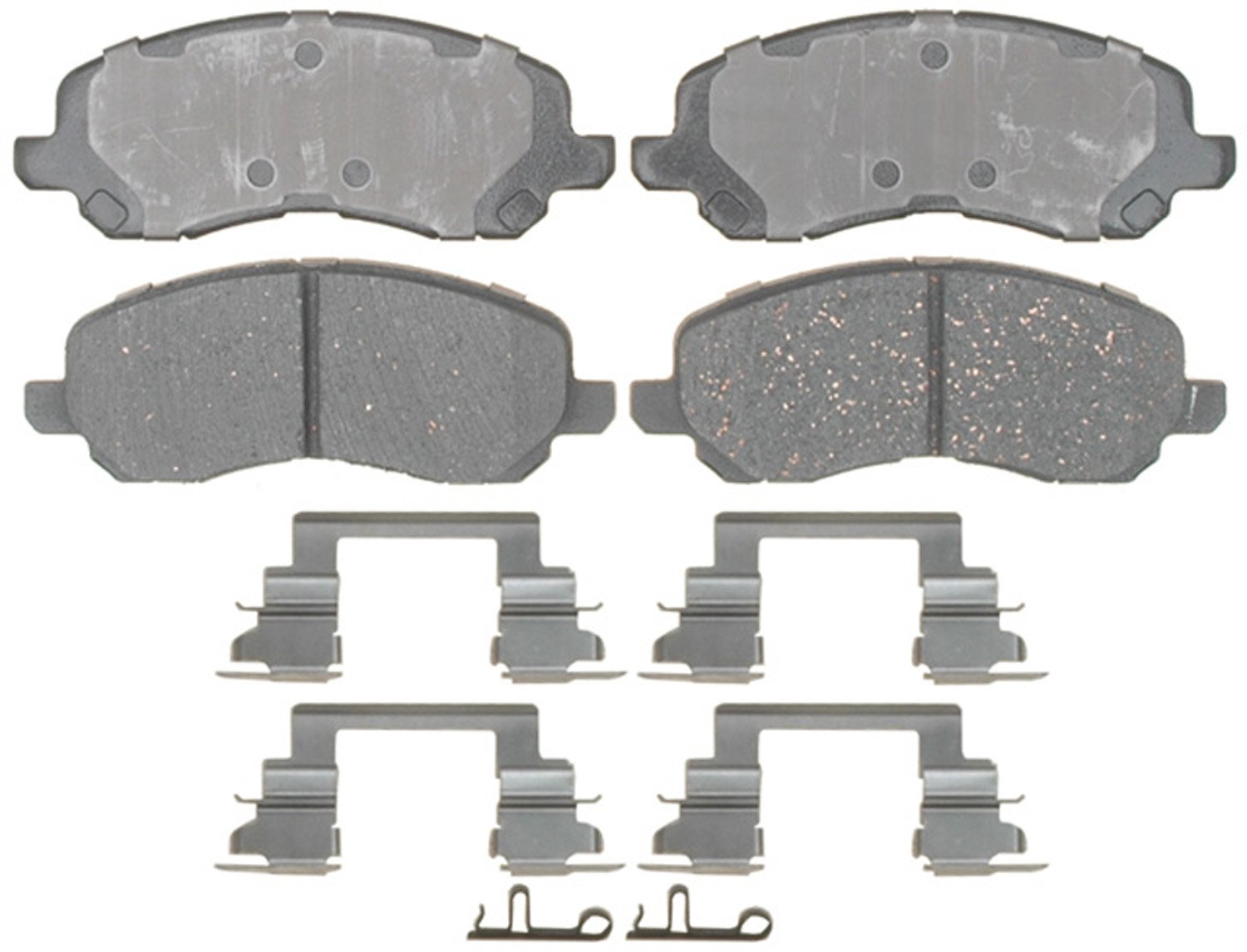 ACDelco 17D866CH Professional Ceramic Front Disc Brake Pad Set