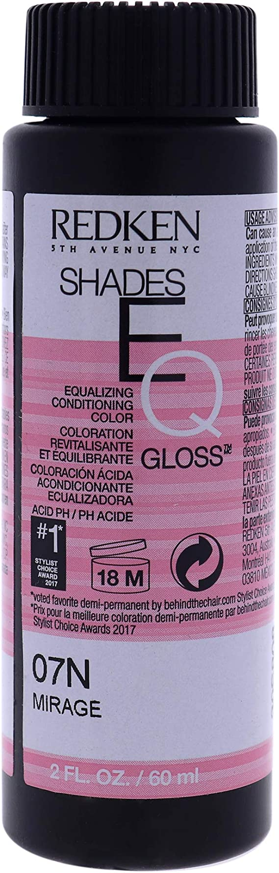 Redken Shades EQ Hair Gloss 07 N 60 ml