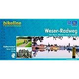 bikeline Radtourenbuch: Weser-Radweg. Von Hann. Münden nach Cuxhaven. 1:75.000. GPS-Download, wetterfest/reißfest
