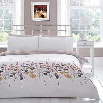 Jasper Bettbezug Modernes Wende Floral Schmetterling Print