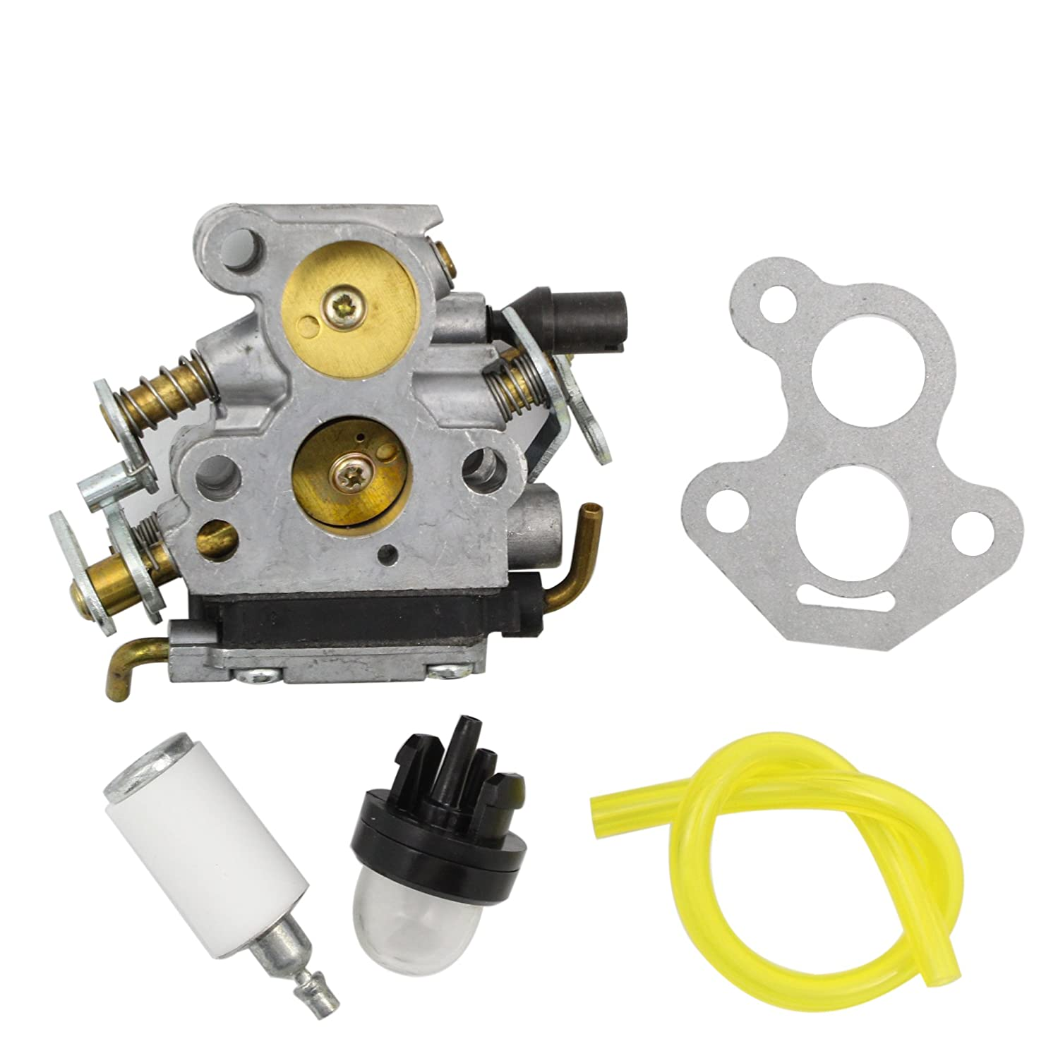 New Replacement Carburetor For Husqvarna 235 235e 236 Genuine Oem Mtd Troybilt 7531225 X3 240 240e Chainsaw 574719402 545072601 Carb Gasket Garden Outdoor