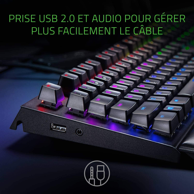 Razer Blackwindow Elite Keyboard Französisches Layout Computer Zubehör