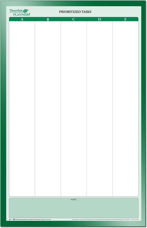 sticky-note prioridad tarea organizador 24 in. x 38 en.: Amazon.es ...