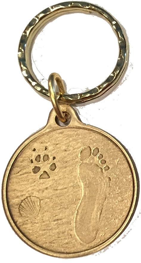 Amazon.com: Siempre Por Mi Lado perro mascota Huella Huellas ...