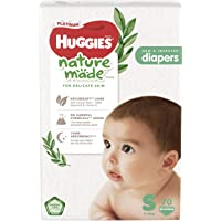 Huggies Platinum Naturemade Tape Diapers S 70s