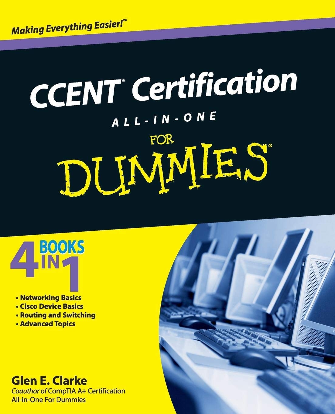 Ccent Certification All In One For Dummies Amazon Glen E
