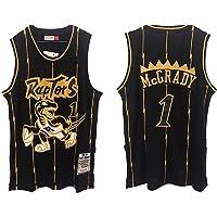 QIXUN Uniforme de Baloncesto Deportivo Toronto Raptors 1# 15# Camiseta de Entrenamiento de Baloncesto Cómoda Camiseta Informal