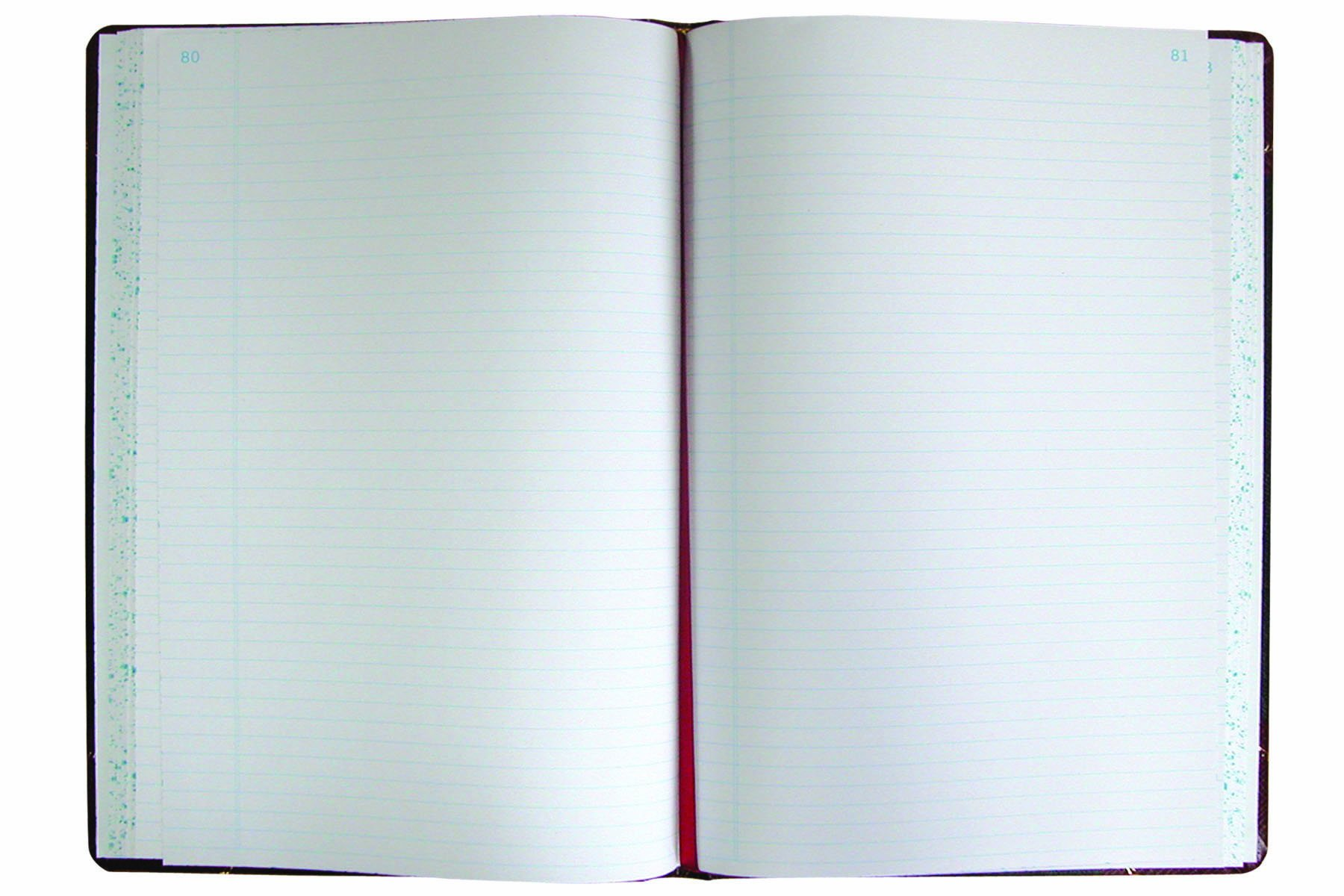 National Brand Record Book, Black Ultima, 13.75 x 8.375 inches, 300 Pages (A9300R)