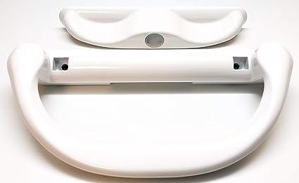 White Sliding Patio Door Handle Set for Milgard