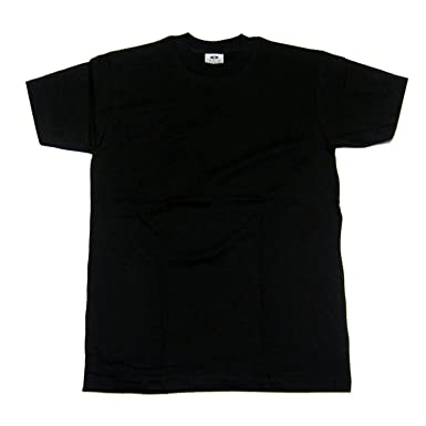 a1964497 Pro Club Heavyweight Crew Neck T-Shirt Black (3pack) | Amazon.com