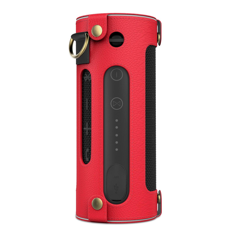 MoKo JBL Flip Funda Portátil Bluetooth Altavoz Cubierta de Cuero Imitado con