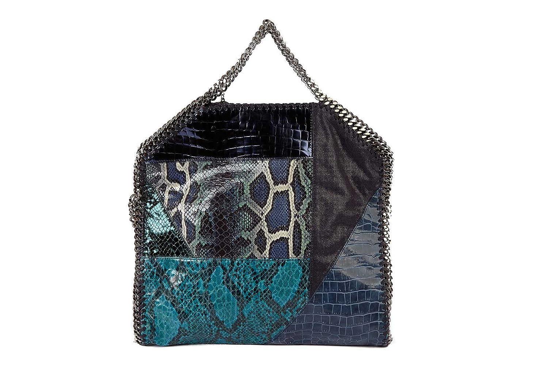 Stella Mccartney women s handbag shopping bag purse falabella blu   Amazon.co.uk  Shoes   Bags 6ee1c7e6eec6c