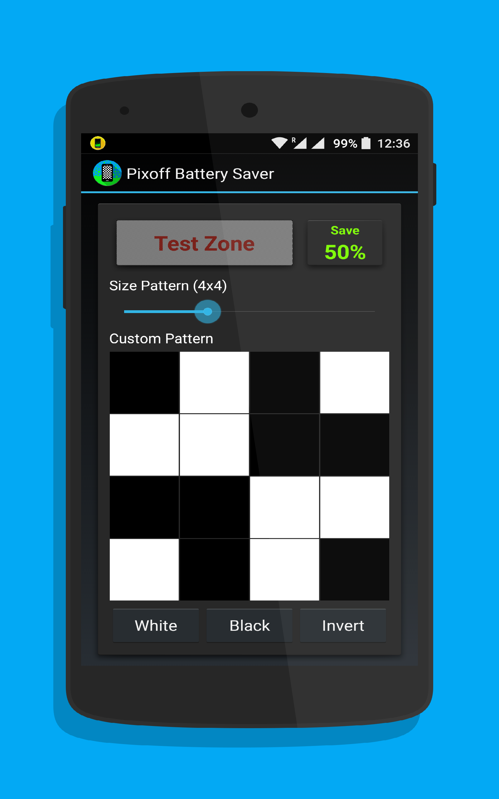 Amazon Pixoff Battery Saver AMOLED Appstore For Android
