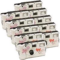 10 x PHOTO PORST appareils photo jetables pour 27 photos avec flash