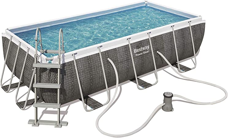 Bestway 56721 - Piscina Desmontable Tubular Power Steel Diseño ...