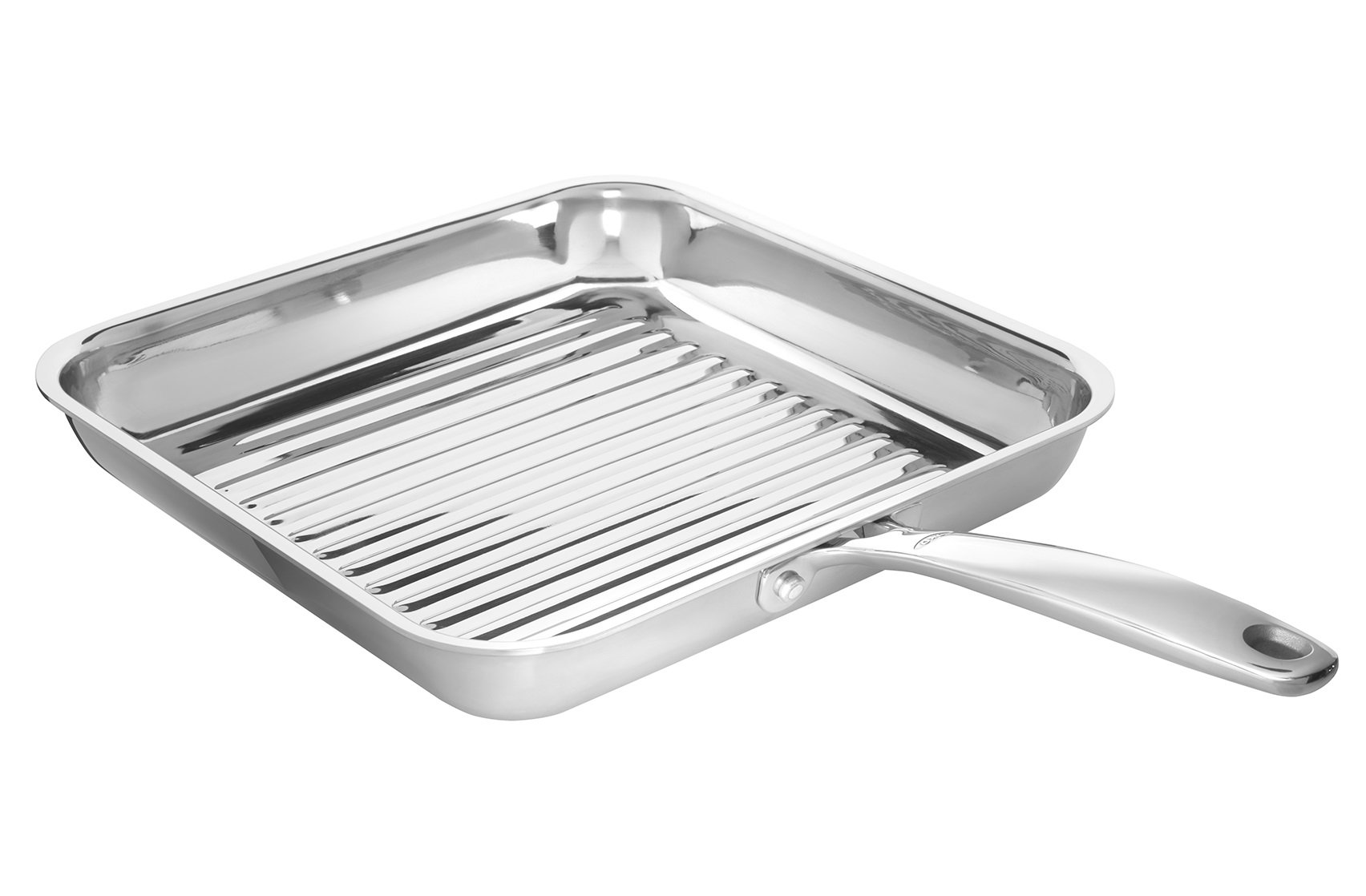 OXO Good Grips Tri-Ply Stainless Steel Pro 11'' Square Grillpan