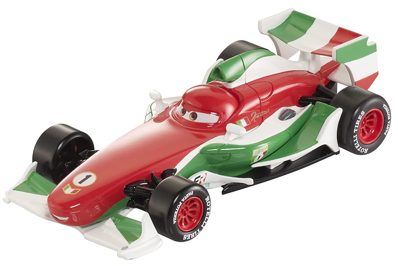 Amazon.com: Cars 2 Pullback Racers Francesco Bernoulli: Toys & Games