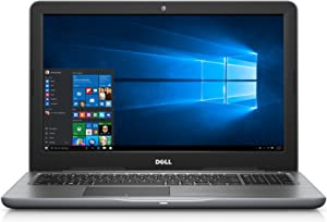 Dell Inspiron i5565-0017GRY 15.6in FHD Laptop (7th Generation AMD A9-9400, 8GB RAM, 1 TB HDD) (Renewed)
