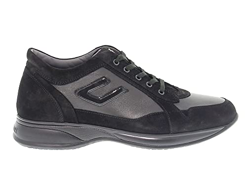 6d8f95618e Cesare Paciotti 4Us Sneakers Uomo 4USCU3CA Camoscio Nero: Amazon.it ...